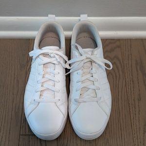 White Adidas sneakers - Women's size 8.5